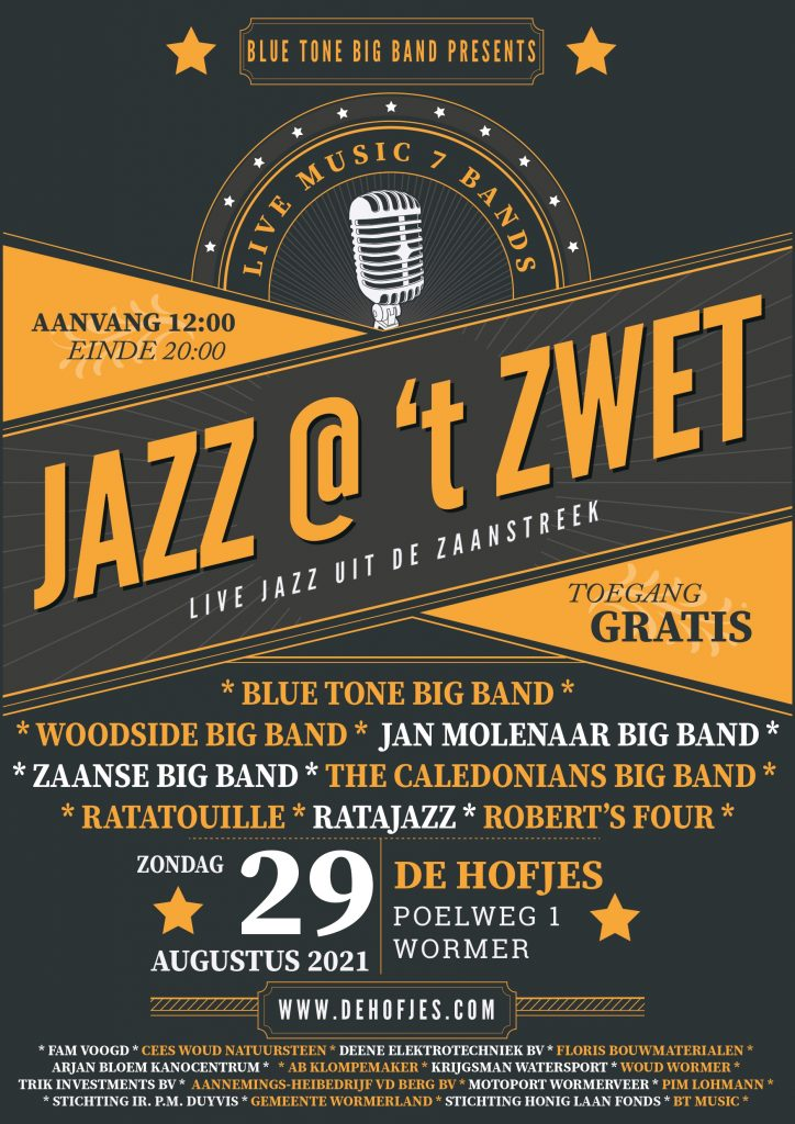 Poster Jazz at Zwet 2021